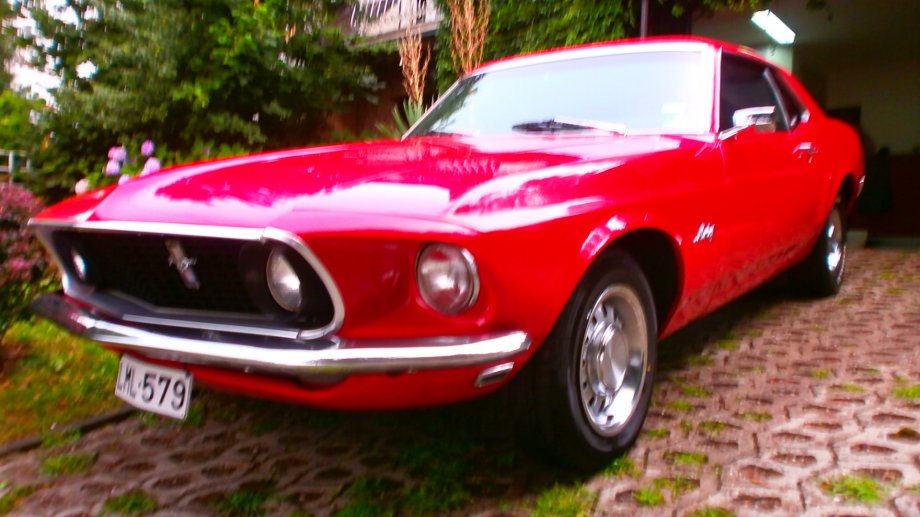 Ford Mustang Oldtimer 1969