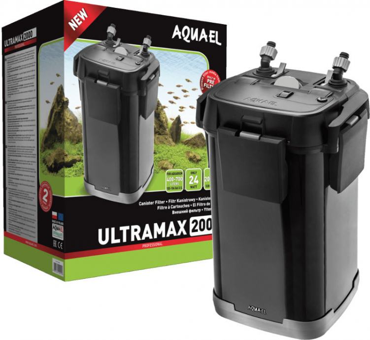 AQUAEL ULTRAMAX 2000 PROFESSIONAL VANJSKI FILTER ZA AKVARIJ