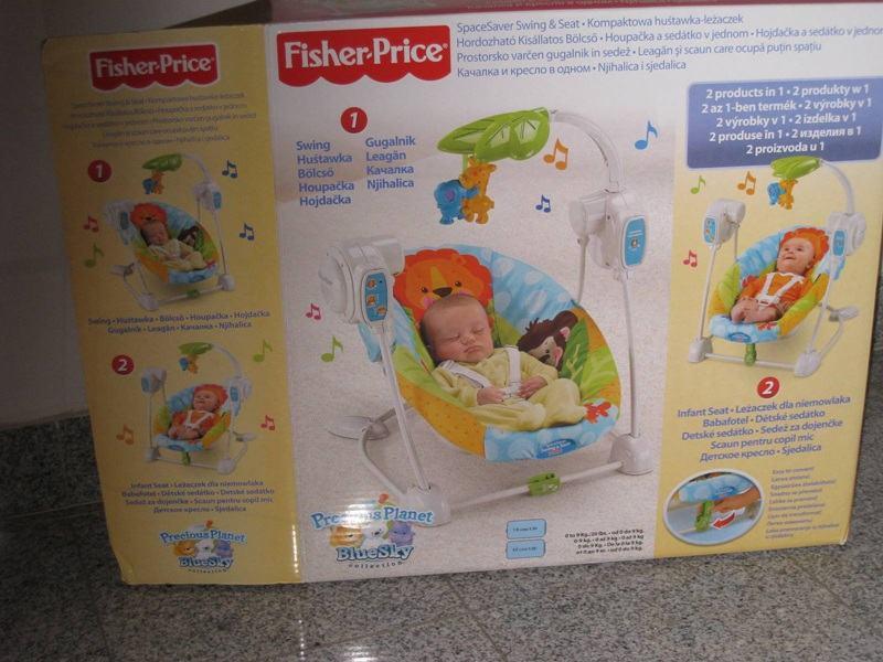 Ljulja ka njihalica za bebe viper fisher price for Espejo retrovisor bebe fisher price