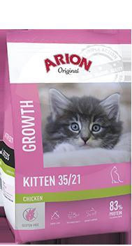 Hrana za mačke ARION Original Kitten 35/21 - 2 kg