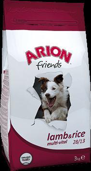 Hrana za pse janjetina i riža ARION Friends Multi-Vital 3kg
