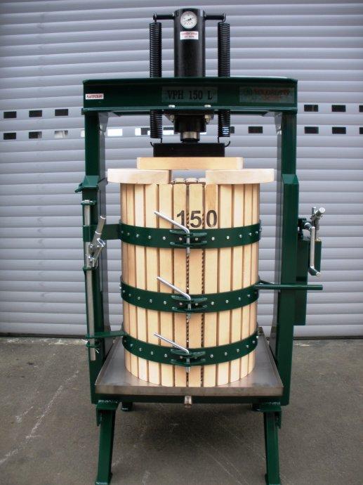 Preša za voće hidraulična VPH 100 lit. NOVO
