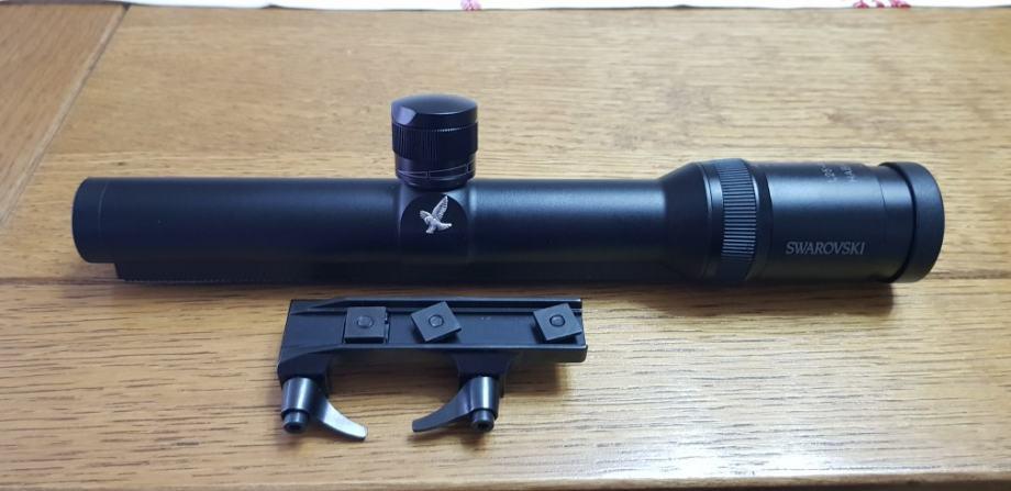 Swarovski optika habicht  1.25-4×24 s crvenom točkom
