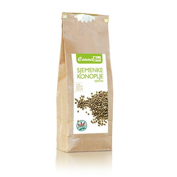 Sjemenke konoplje (cjelovite) 250 g - 100% hrvatsko