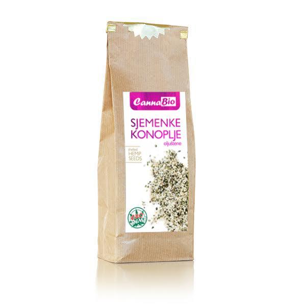 Sjemenke konoplje (oljuštene) 250 g - 100% hrvatsko