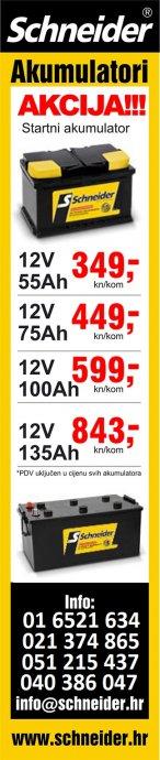 Akumulatori-Baterije SCHNEIDER od 249kn-AKCIJA