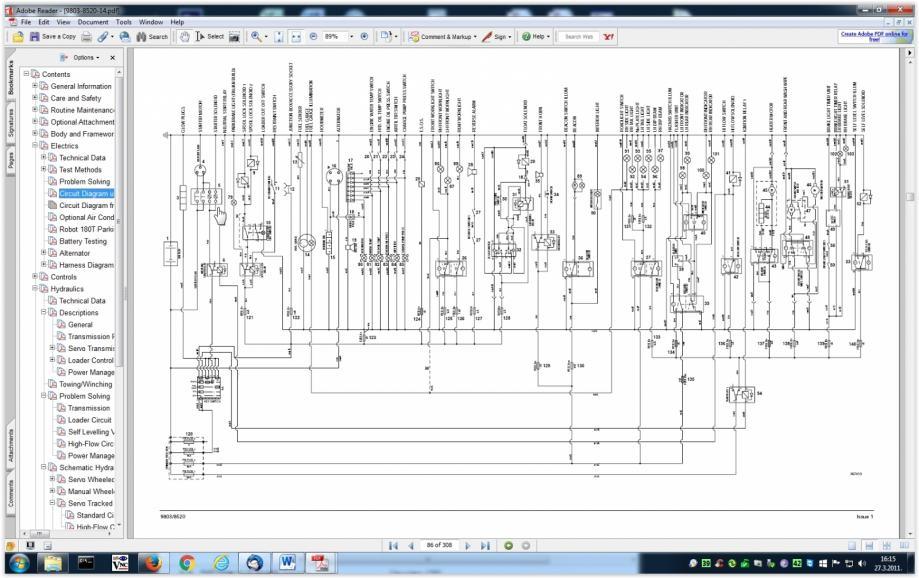 Jcb js 130 operating Manual
