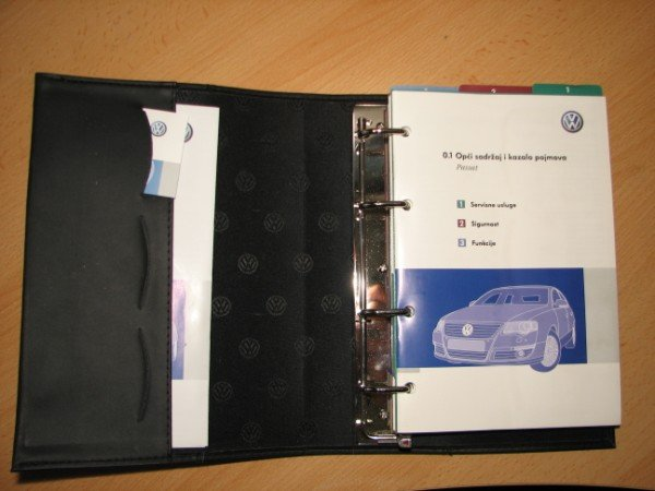 SERVISNA KNJIŽICA PASSAT B6 2005 do 2010