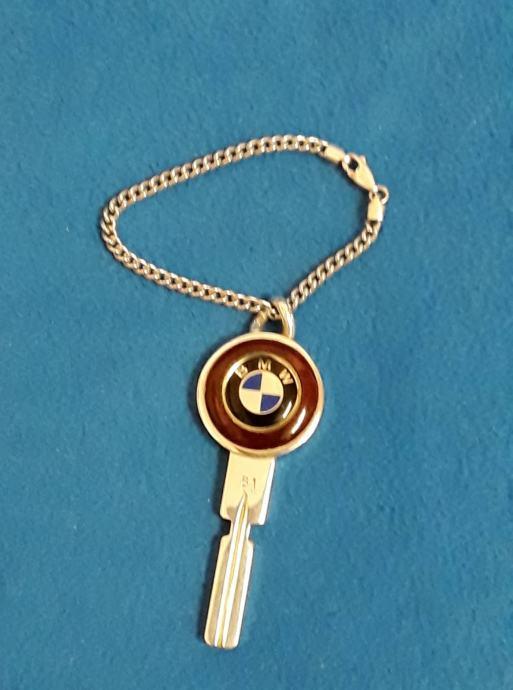 Srebrni ključ za BMW - srebro 925