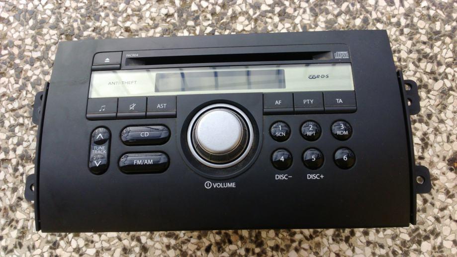Suzuki SX4 CD radio