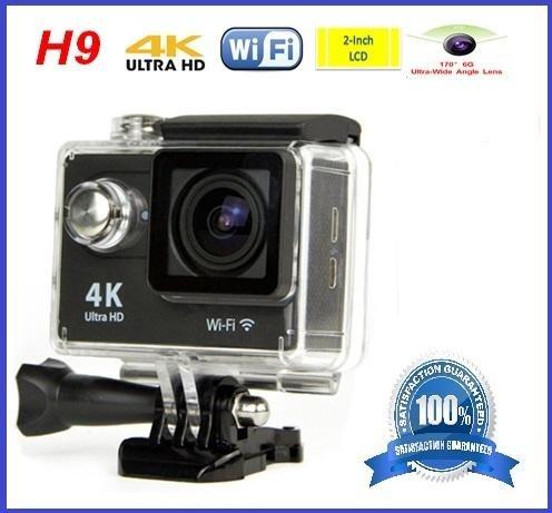 4 K Ultra HD Akcijska kamera 16MP, WIFI- vodonepropusna sa svim dodaci