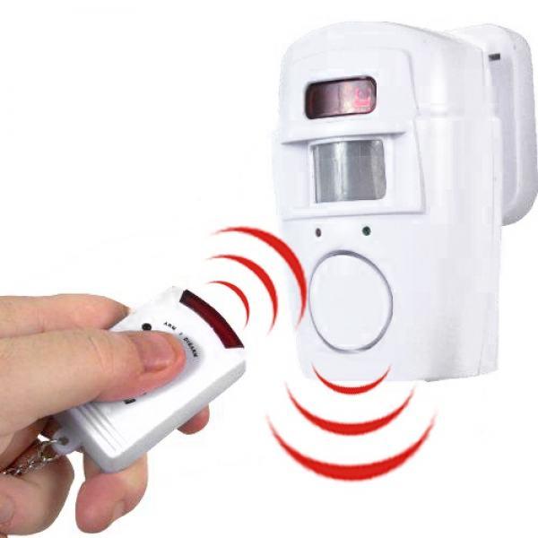 Alarm sa senzorom pokreta i 2 daljinska upravljača