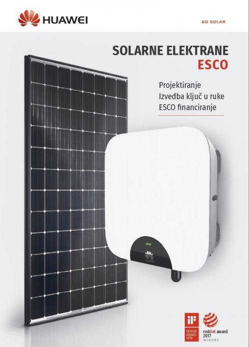 HUAWEI i Jinko solarne elektrane - solarni paneli