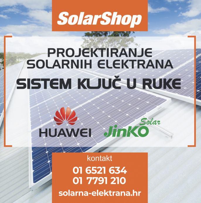 SHARP HUAWEI LONGI JINKO TRINA SUNWAYS solarne elektrane