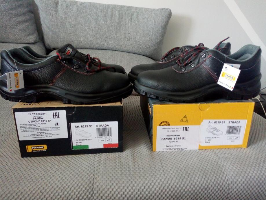 Zaštitne cipele Panda (br.47) dva para = 200 kn NOVO!