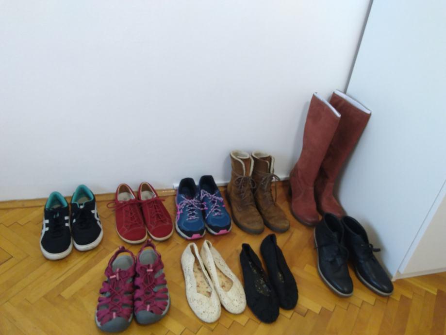 Lot ženskih cipela br 43 (28 cm)