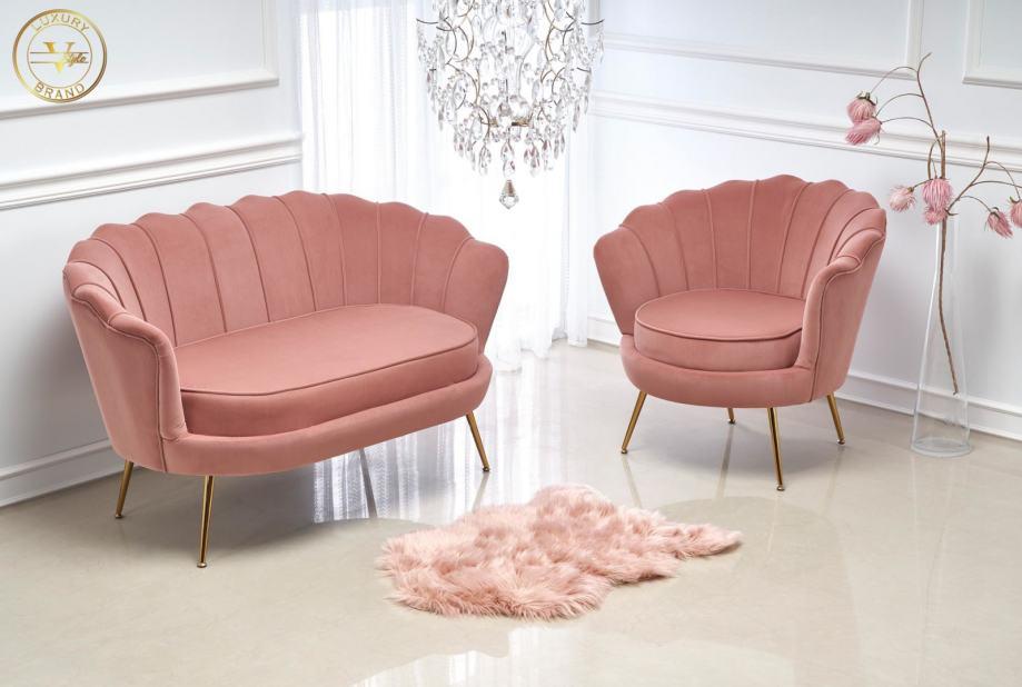 Vstyle Luxury Brand roza sofa Amorinito