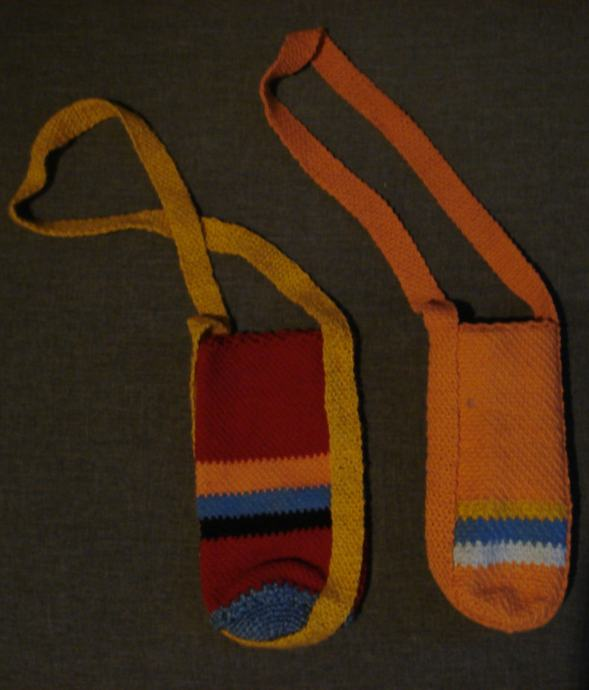 Pletene torbice za boce 2 kom