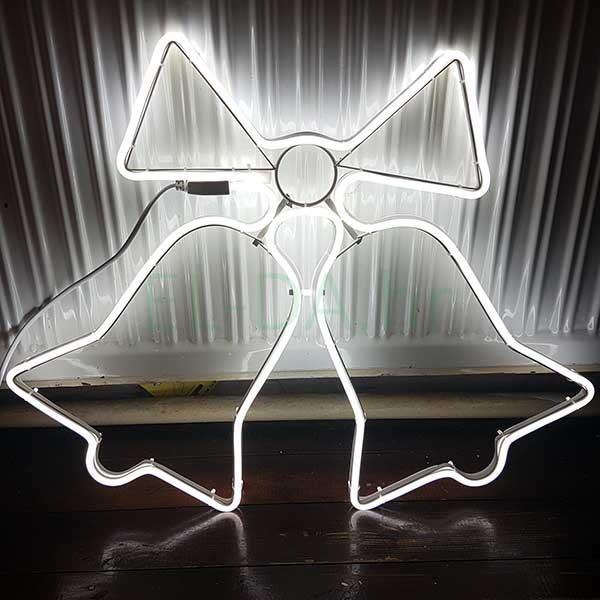 """Dekor božićna zvona """"Deluxe"""" 61x49x2cm"""
