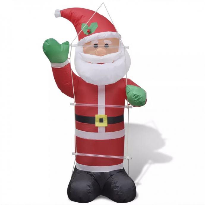 Djed Mraz na napuhavanje 120 cm s ljestvama - NOVO