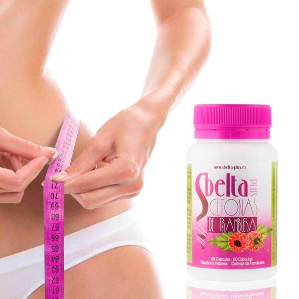 Dodatak Prehrani s Ketonima Maline Sbelta Plus (60 kapsula)