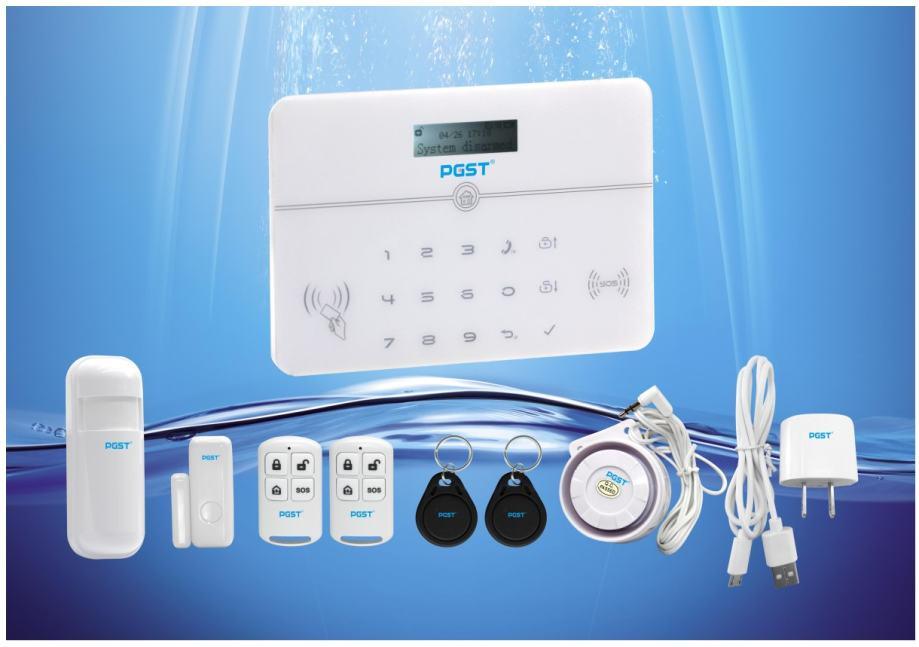 Alarmni sistem PG-104 Fiksna tel.linija + GSM Ademco CID