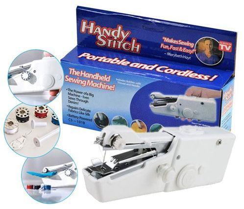 Mali ručni prijenosni šivaći stroj