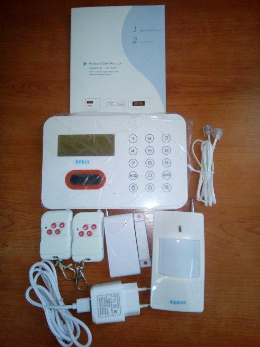 Bežični alarm s telefonskom dojavom (WIRELES PSTN ALARM)
