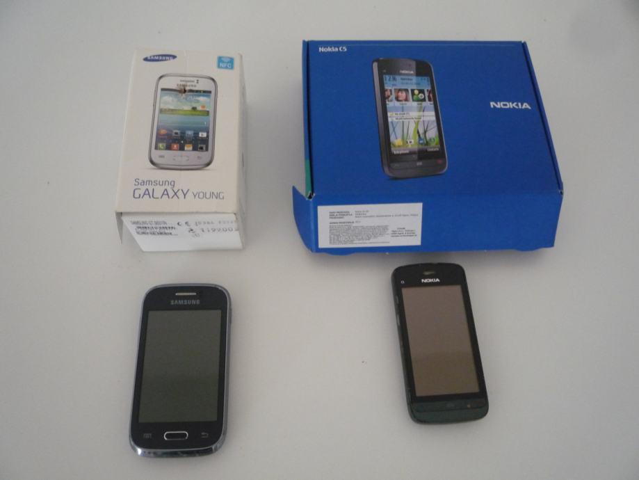 mobitel SAMSUNG GALAXY YOUNG -NOKIA -C 5 - KAO NOVI