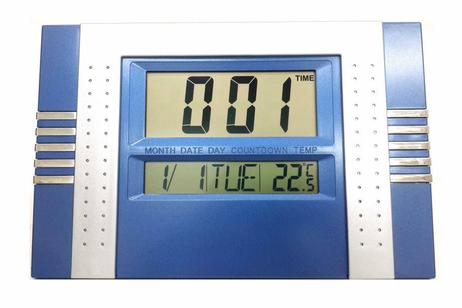 Multifunkcijski LCD sat