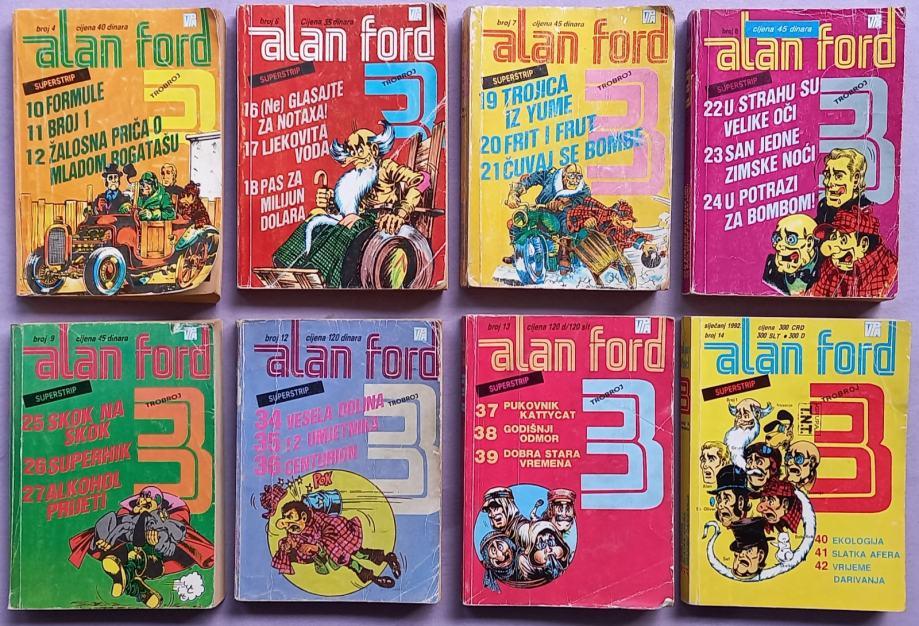 Trobroj ALAN FORD (8 posebnih brojeva)