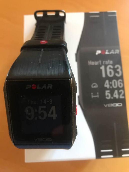 Polar v800 sat HRM