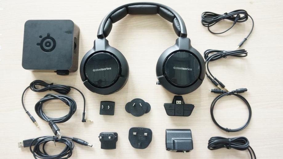 Steelseries Siberia x800 wireless slušalice (malo korištene)
