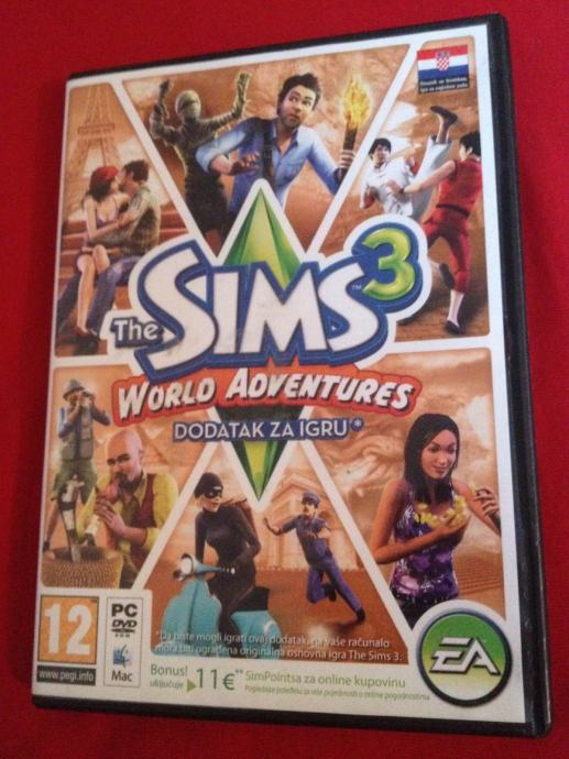 the sims 3 dodaci world adventures i ambitions pc