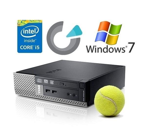DELL OPTIPLEX 7010 USFF i5-3470s 3,6GHz/8GB/240SSD/DVDRW/WIN7 PRO COA