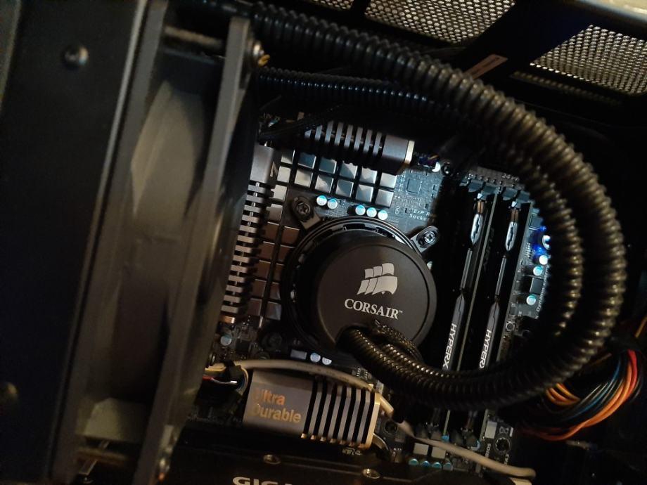 Gaming pc i7 2600k, gigabyte p67_ud7, rx580, 16gb ddr3...garancija!