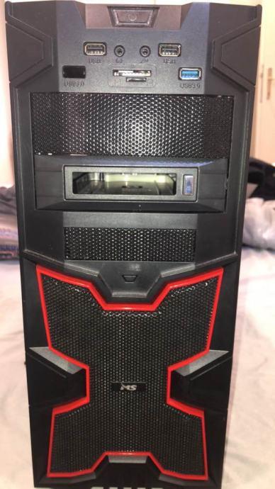 Gaming PC (AMD FX8370,Asus RX480 (4gb),HyperX Fury (1x8gb DDR3)) HITNO