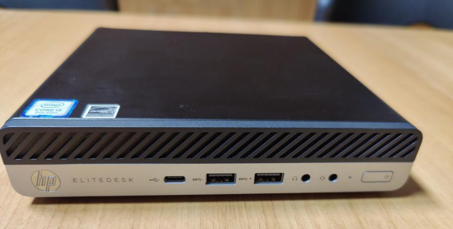 HP EliteDesk 800 G4 35W Desktop Mini PC Win 10 pro | R1 račun