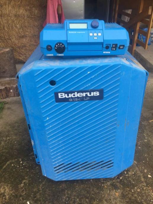 Buderus plinska pec za centralno grijanje