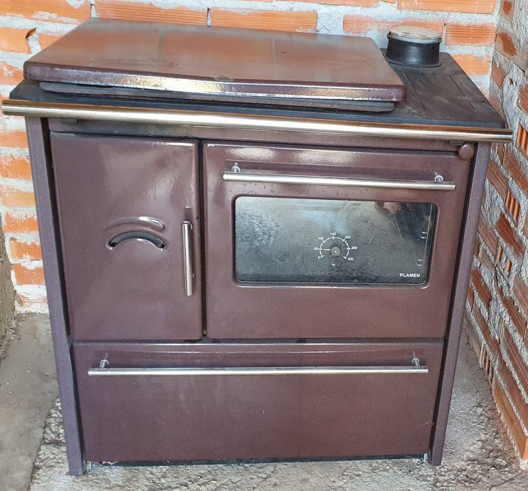 peć na drva za grijanje i kuhanje - Plamen