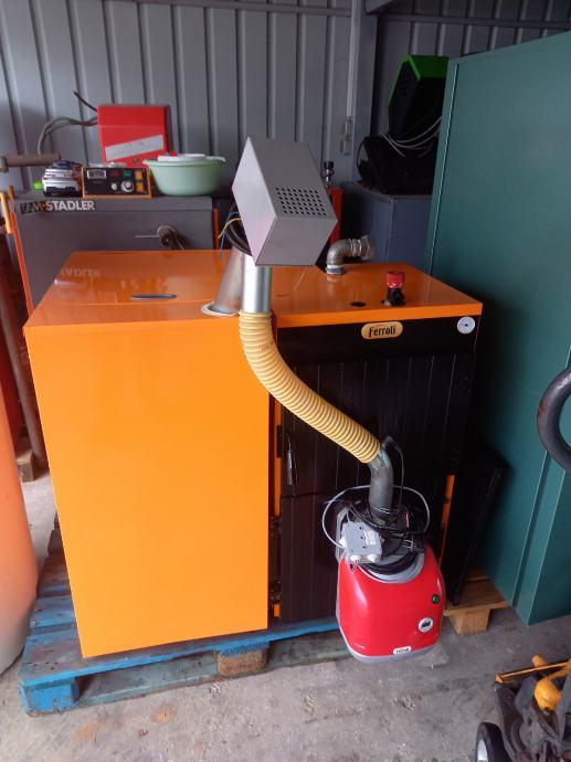 Ferroli kotlovnica za centralno grijanje