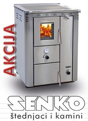 SENKO C-20 štednjak za centralno grijanje 25kw - akcija, sniženo %