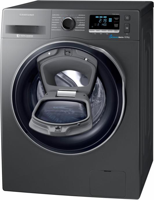 Perilica rublja SAMSUNG EcoBubble AddWash 8 kg, jamstvo (Zrinko Tehno)