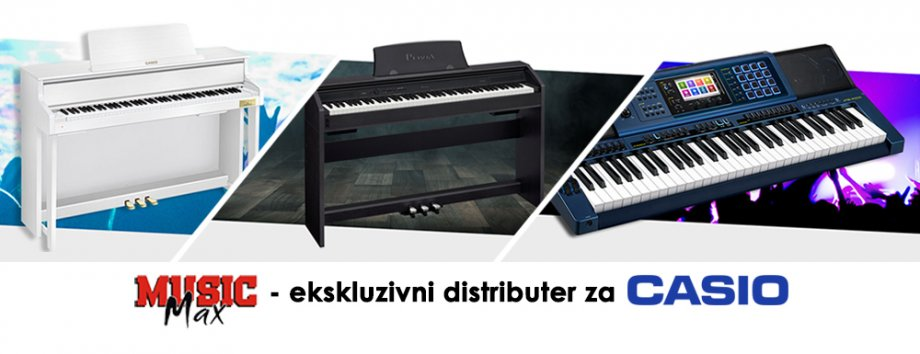 Casio klaviri, pianina, synthesizeri za glazbenu školu