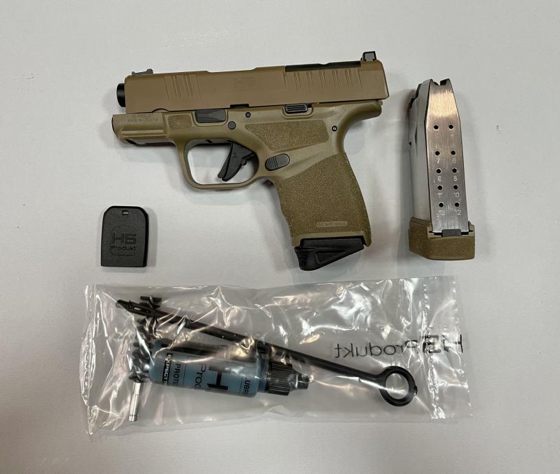 Hs Pištolj Hs H11 RDR ALL FDE 9x19mm **Akcija**,Novo u Trgovini