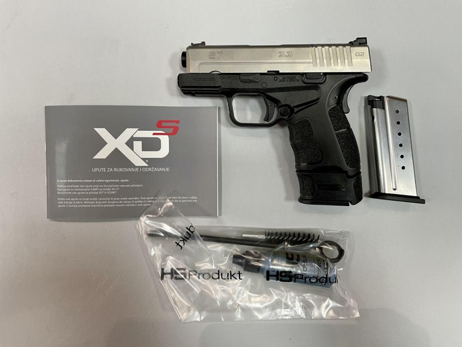 """Hs Pištolj Hs S7 3.3"""" SS  9x19mm **Akcija**,Novo u Trgovini"""