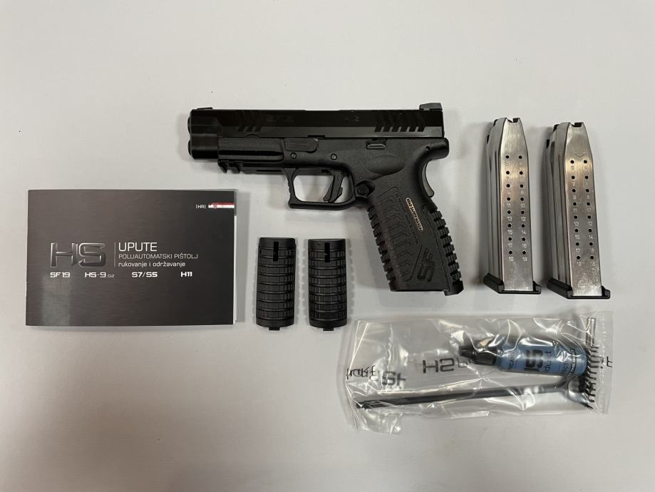 "Hs Pištolj Hs  SF19  4,5"" 9x19mm **Akcija**,Novo u Trgovini"