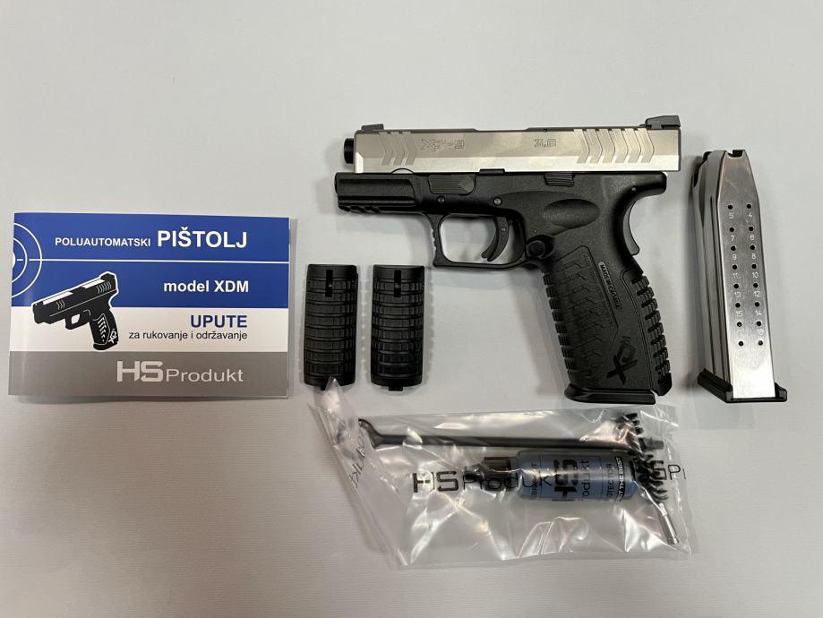"Hs Pištolj XDM-9  3.8"" SS HS 9x19mm **Akcija**,Novo u Trgovini"