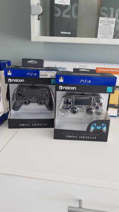 Bigben Controller ( Wirred ) za PS4 Nacon Compact Illuminated&Black