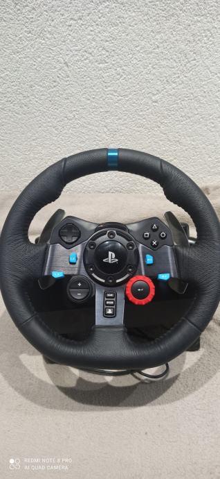 Logitech G29 + pedale PC / PS3 / PS4 / PS5